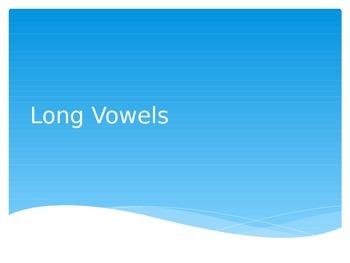 Blending CVCe Words Powerpoint