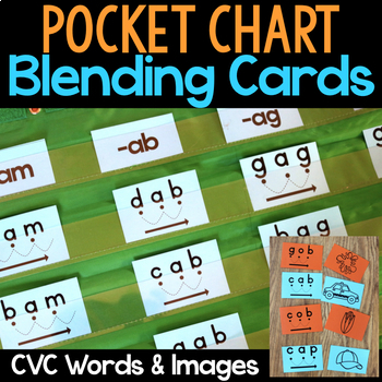 blending words for preschoolers blending cards for cvc words by what i learned tpt 913
