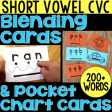 Blending Cards for CVC Words | Distance Learning