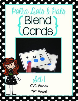 Blending Cards Set #1 {Polka Dots and Pals}
