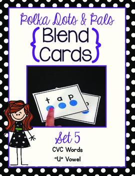 Blending Cards Set #5 {Polka Dots and Pals}