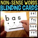 Blending Cards for CVC Nonsense Words