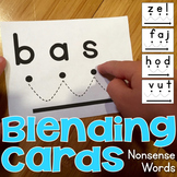 Blending Cards for CVC Nonsense Words
