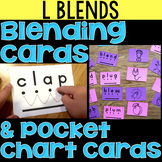 Blending Cards for L Blends & Clusters & tw, the, qu