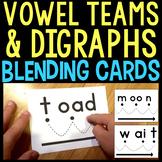 Blending Cards for Long Vowel & Other Vowel Digraphs