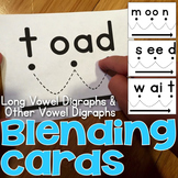 Blending Cards for Long Vowel & Other Vowel Digraphs