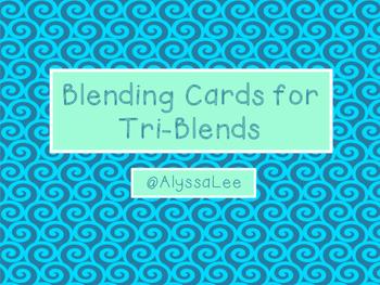 Blending Cards for Tri-Blends -Orton Gillingham