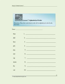 Blending Consonant Vowel Consonant Words