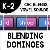 Blending Dominoes - Onset and Rimes: CVC, Blends, Digraphs