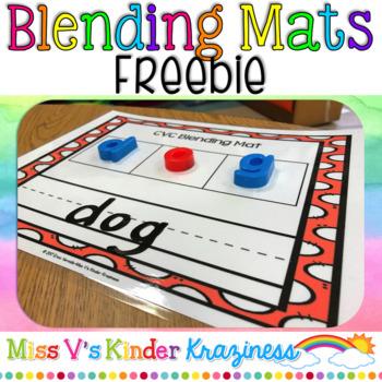 Blending Mats FREEBIE