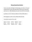Blending Onsets & Rimes Worksheets