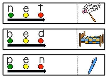 Blending Phonemes (CVC words)