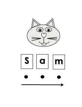 Blending S-a-m-Sam,  c-a-t-Cat activity