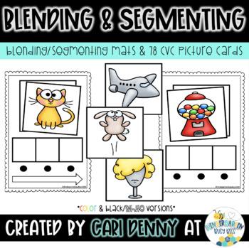 Blending & Segmenting (72 CVC cards)