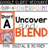 Blending Short A CVC Words (Made for Google Slides™ and Po