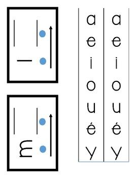 FRENCH - Blending Slider Boards