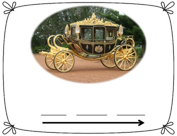 Blending Sound Mats CVC Words Horse and Carriage Theme