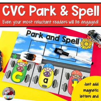 CVC Park and Spell Sound Boxes