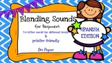 Blending Sounds For Beginners-SPANISH