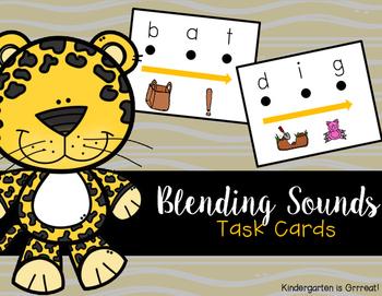 Blending Sounds - Task Cards