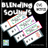 CVC Words Blending Sounds ~ Blending CVC Words with FUN Sliders