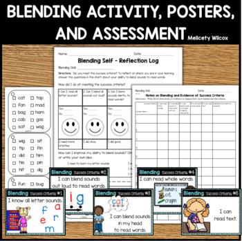 Blending Activity Cards with Success Criteria Assessments and Data Forms