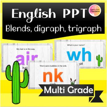 Blending & Tracking Literacy PPT