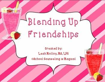 Blending Up Friendships Game