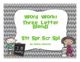 Blending Up Words- 3 Letter Blends