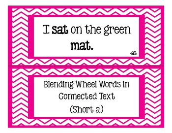 Blending Wheel Words in Connected Text