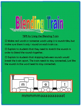 Blending Words - Blending Train