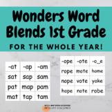 Blending Words Wonders First Grade
