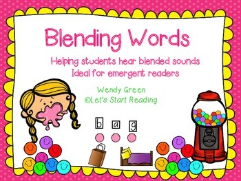 Blending Words for Emergent Readers