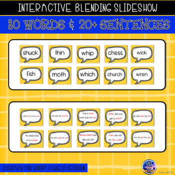 Blending Words with Digraphs