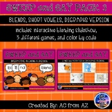 Blending Words with Short Vowels, Blends, and Digraphs
