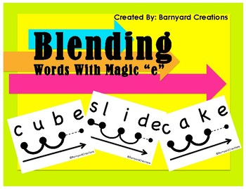 Blending Words with Silent E