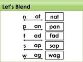Blending and Reading: Short Vowels (BUNDLE)