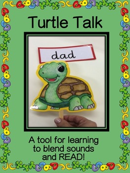 Blending and Reading with Mr.Turtle