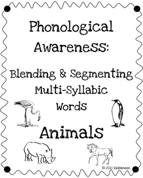 Blending and Segmenting 2-5 Syllable Words