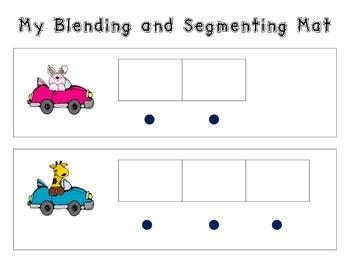 Blending and Segmenting Mat