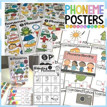 Blending and Segmenting Phonemes BUNDLE