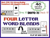 Blending and decoding activity for four letter words - Han