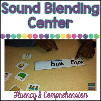 Blending sounds Fluency and Comprehension Pack