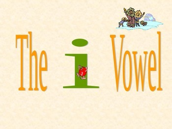 Blending the /i/ vowel with letter animation