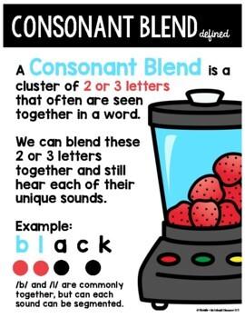 Blending with Consonant Blends