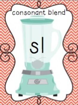 Blending with Consonant Blends { L BLENDS: bl, cl, fl, gl, pl, sl }