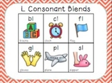 Blending with Consonant Blends { L BLENDS: bl, cl, fl, gl, pl, sl }