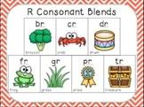 Blending with Consonant Blends { R BLENDS: br, cr, dr, fr, gr, pr, tr }