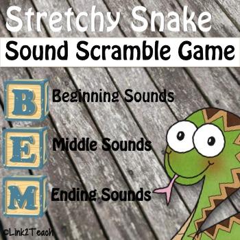 Stretchy Snake Sound Scramble Game