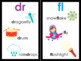 Blends and Digraph Signs and Posters for Word Walls